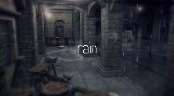 「rain」をクリアした感想と評価…誰も簡単にプレイできる最高峰雰囲気ゲー!!個人的には神ゲー認定