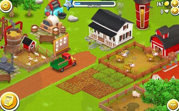 無料ゲーム「ヘイ・デイ(Hay Day)」が結構面白かったのでオススメする件!のんびり遊べる農場育成ゲーム